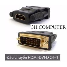 Đầu chuyển đổi DVI-D 24+1 sang HDMI (DVI-D male to HDMI female)