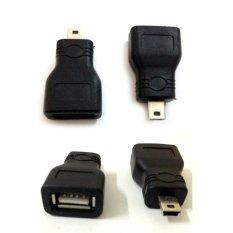 Đầu chuyển đổi Mini USB to USB OTG (Đen)