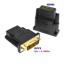 Đầu chuyển DVI chuẩn 24 + 1 chân sang HDMI mã DTH01