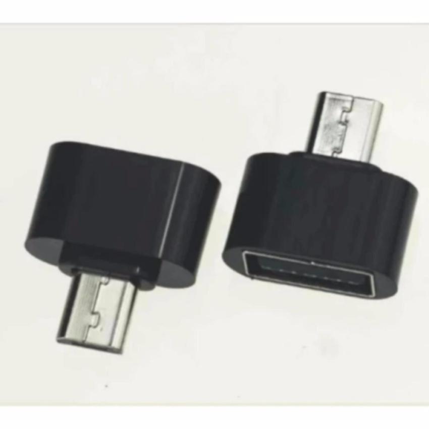 Hình ảnh Đầu chuyển Micro USB OTG cho máy tính bảng và smart phone (đen) - Hàng nhập khẩu