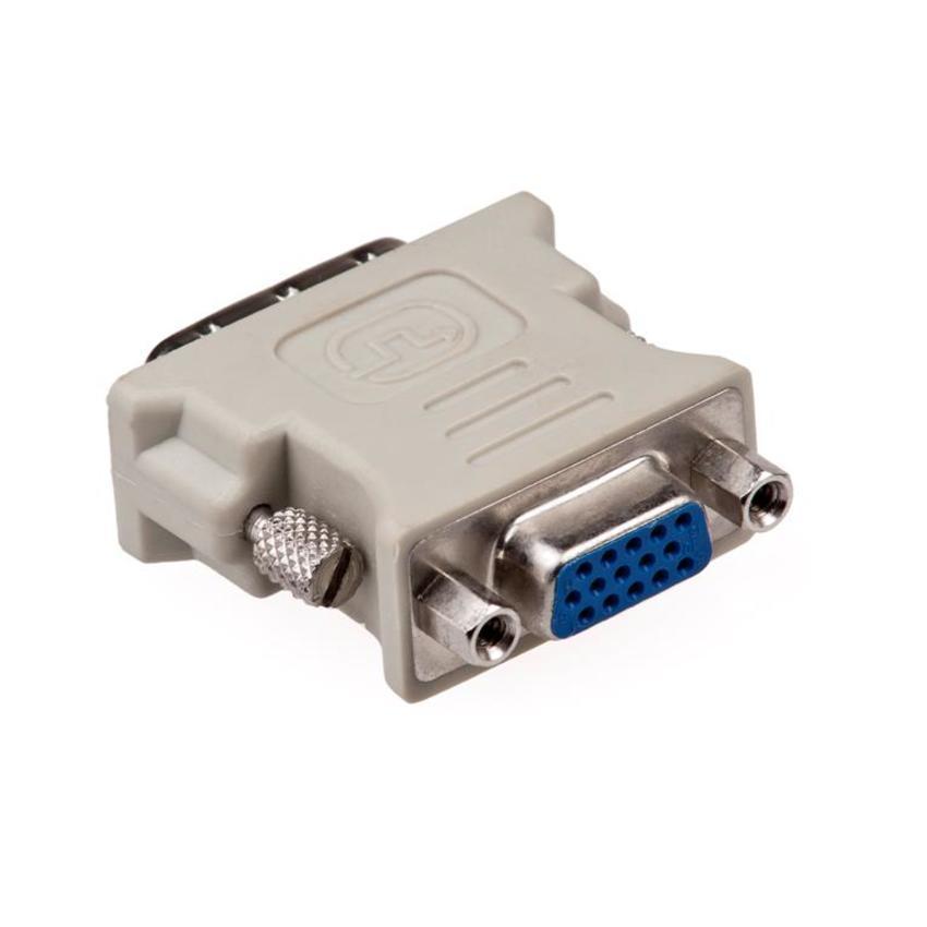 Đầu chuyển tín hiệu từ DVI sang VGA (Xám) 24+5