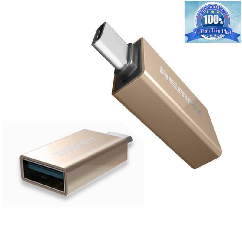 Bảng giá Đầu chuyển Type-C sang USB 3.0 Female OTG Remax RA-OTG1 Phong Vũ