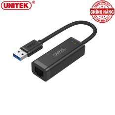 Đầu Chuyển USB 3.0 ra sang Gigabit Ethernet LAN 100/1000 Mbps Unitek Y-3470