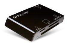 Đầu đọc thẻ nhớ Transcend Multi-Card Reader P8BK (USB2.0) (Đen)
