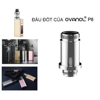 Đầu đốt / Coil thay thế cho thuốc lá điện tử Vape - Shisha Ovancl P8 (Bạc)