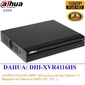 Đầu ghi hình Camera 16 kênh FULL HD 1080P Dahua DHI-XVR4116HS