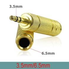 Đầu jack chuyển 3.5mm dương ra 6.5mm âm (giúp chuyển âm thanh từ Smartphone, Laptop/PC ra Amplifier, Loa, Cắm Microphone)