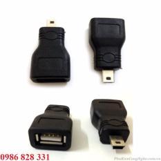 Đầu OTG chuyển đổi Mini USB to USB