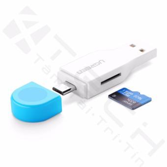 Đầu OTG đọc thẻ nhớ Micro USB OTG Card Reader Ugreen 30358