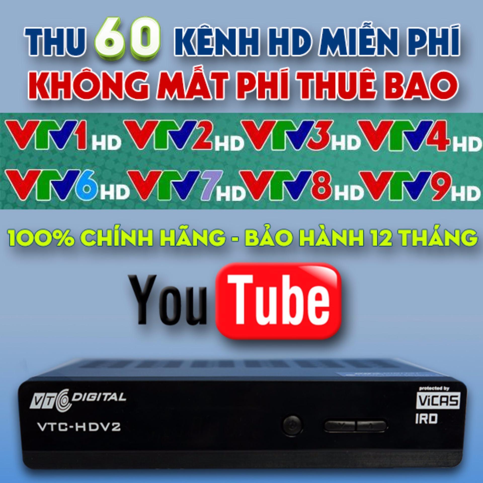... Đầu thu VTC HD V2 Thêm tính năng kết nối YouTube