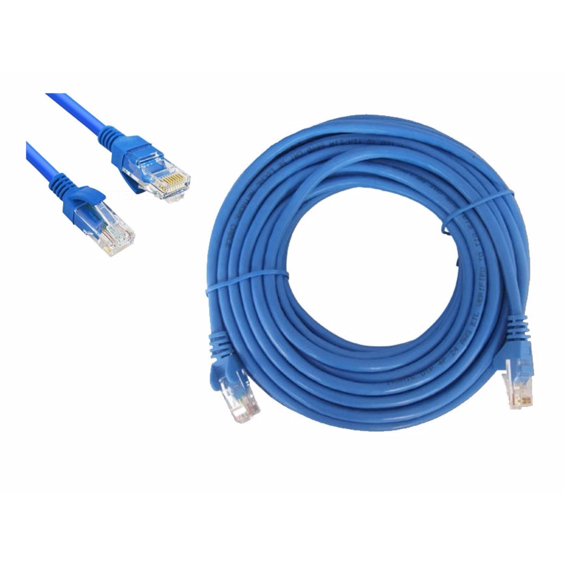 Dây Cáp Mạng LAN 2 Đầu Đúc Sẵn Dài 10M