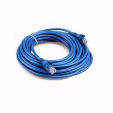 Dây cáp mạng CAT5E UTP bấm sẵn 2 đầu 3 Mét (Màu xanh – Mới 100%)