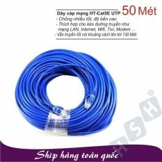 Dây cáp mạng LAN 50 Mét HT-CAT5E UTP – (Đã có 2 đầu)