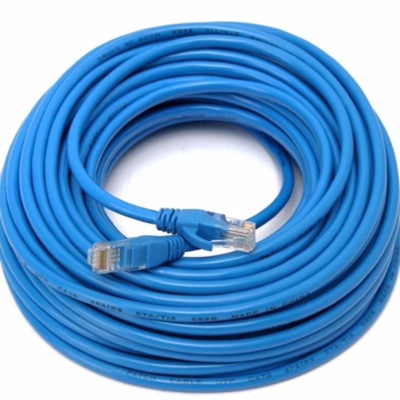 Bảng giá Dây cáp mạng CAT6E LBlink bấm sẵn 2 đầu 20 Mét (Trắng, xanh - Mới 100%) Phong Vũ