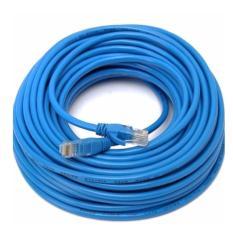 Dây cáp mạng CAT6E LBlink bấm sẵn 2 đầu 30 Mét (Trắng, xanh – Mới 100%)