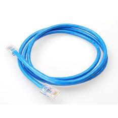 Dây cáp mạng CAT6E UTP bấm sẵn 2 đầu 5 Mét (Trắng, xanh – Mới 100%)