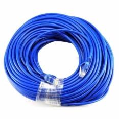 Dây cáp mạng CAT6E UTP bấm sẵn 2 đầu 90 Mét (Màu xanh – Mới 100%)