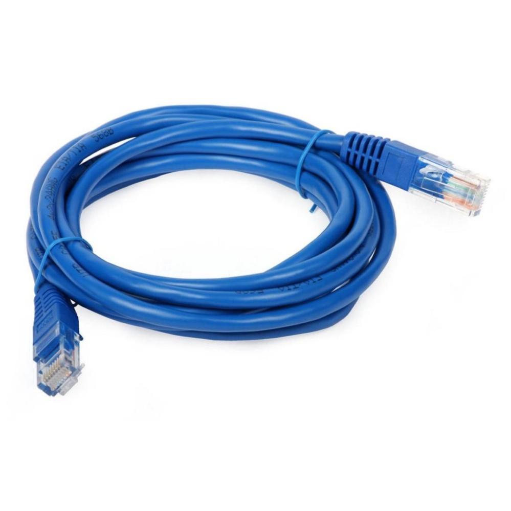 Dây cáp mạng đúc sẵn 2 đầu chống nhiễu Cat5e HX – 3m (xanh)