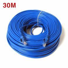 Dây Cáp mạng internet/ Mạng LAN K&H 2 đầu đúc sẵn 30M loại tốt