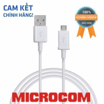Dây cáp sạc MICROCOM Chính Hãng dành cho điện thoại sam sung J5-J7prime