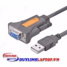 Dây cáp USB to COM đầu âm RS232 DB9 dài 1.5m chính hãng UGREEN 20201