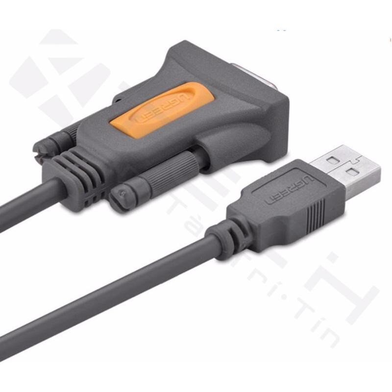 Bảng giá Dây cáp USB to Com đầu âm RS232 DB9 dài 1.5m Ugreen 20201 Phong Vũ