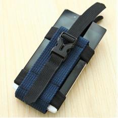 Dây đai đeo điện thoại buộc tay khi chạy bộ(Xanh đen)