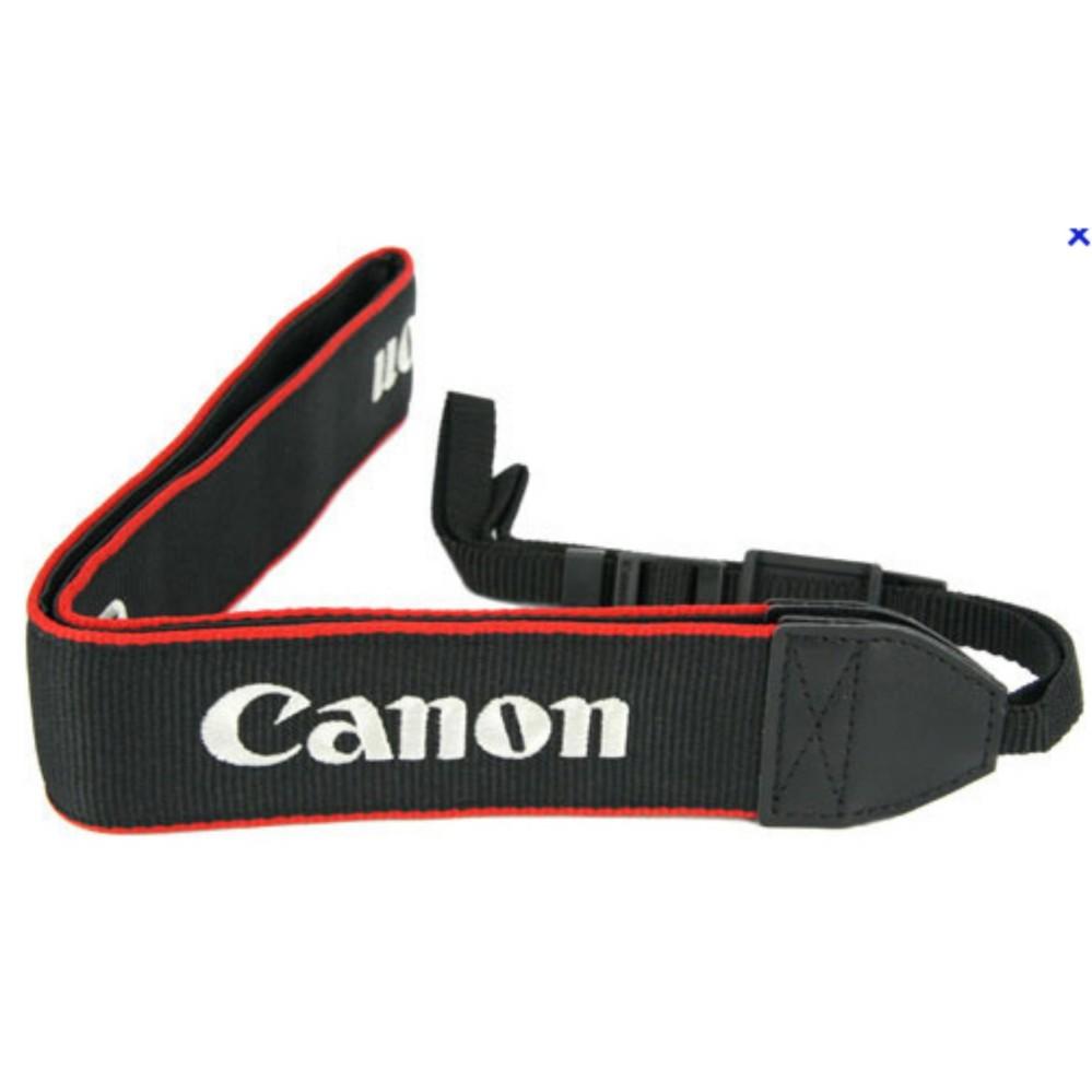 Dây đeo cổ dành cho máy ảnh Canon EOS DSLR ( Đen)