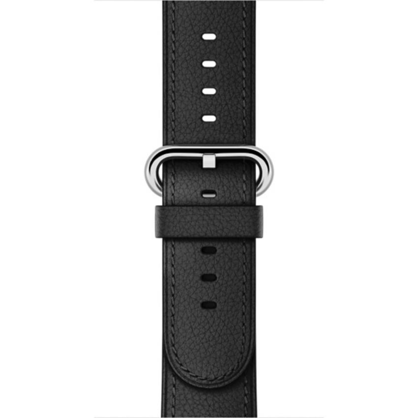 Hình ảnh Dây đeo đồng hồ Apple Watch 38mm Black Classic Buckle