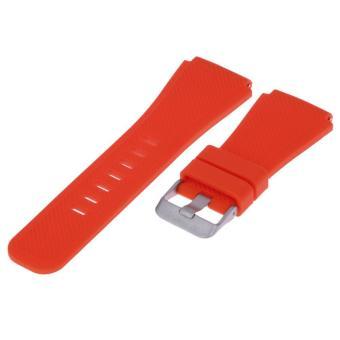 Dây đeo tay thể thao Silicon Dành cho Đồng Hồ Samsung Gear S3 (Màu đỏ) - Quốc Tế