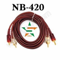 Dây kết nối AV 4 đầu Bông Sen ( NB-420/1.5M)