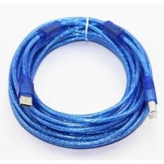 Dây máy in USB 10m chống nhiễu (xanh)