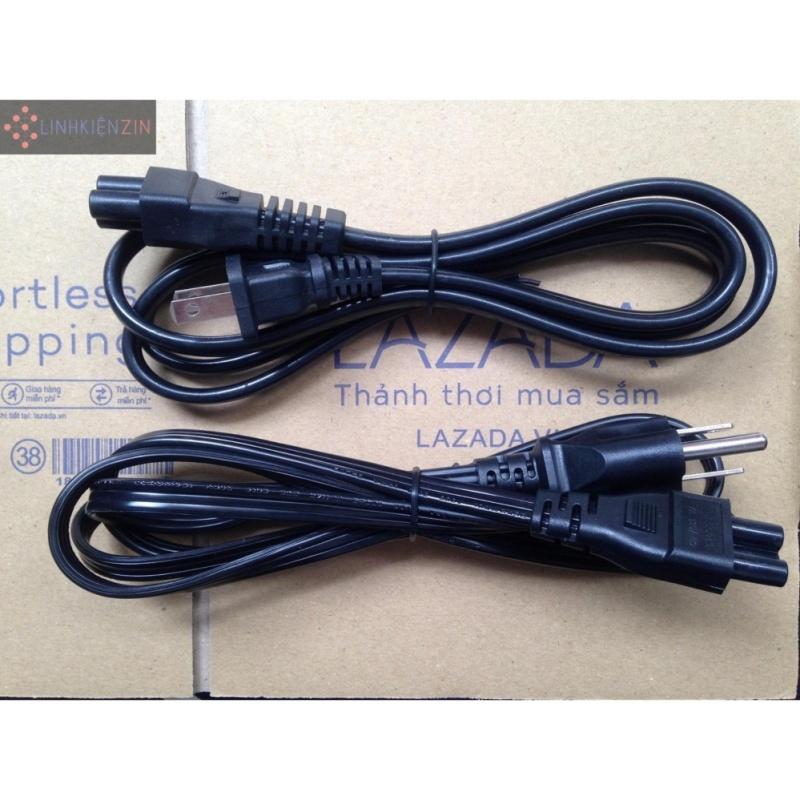 Bảng giá Dây nối nguồn điện AC220V  vào bộ sạc Laptop mầu đen dài 1.5m Phong Vũ