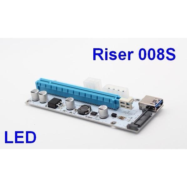 DÂY RISER PCIe 1X TO 16X USB 3.0 VER 008s