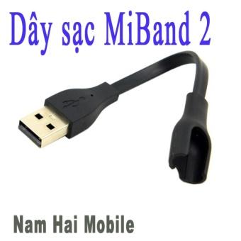 Dây sạc cho miband 2, dây sạc thay thế cho mi band 2 (Đen)