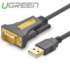 Dây USB 2.0 sang COM DB9 RS-232 chipset PL2303TA dài 3m UGREEN CR104 20223 (đen)