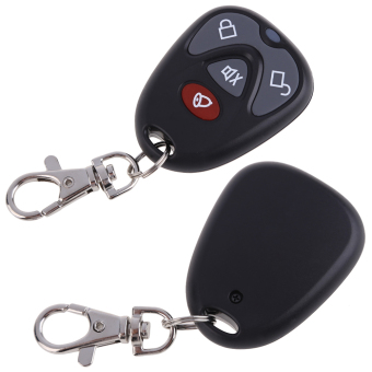 DC12V REPLACEMENT REMOTE CONTROL 4 BUTTON CAR ALARM SECURITY 315MHz(Intl)