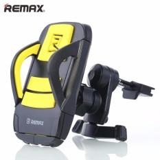 Đế giữ điện thoại trên xe hơi kẹp hông có nút bấm giữ- Remax C03