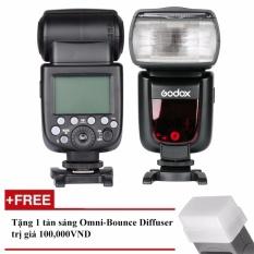 Đèn Flash Godox TT685C Cho Canon – Tặng tản sáng Omni bouce