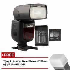 Đèn Flash Godox V860II Cho Fujifilm (Kèm pin và sạc) – Tặng tản sáng Omni bouce