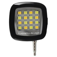 Đèn Flash LED cho điện thoại (Đen)