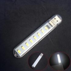 Đèn Led 8 Bóng Cực Sáng Cắm Cổng USB (loại tốt)