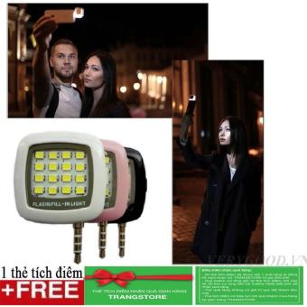 Giảm giá Đèn LED flash 16 bóng cực sáng hỗ trợ selfie + Tặng kèm 1 thẻ tích điểm nhận quà tại gian hàng Trangstore