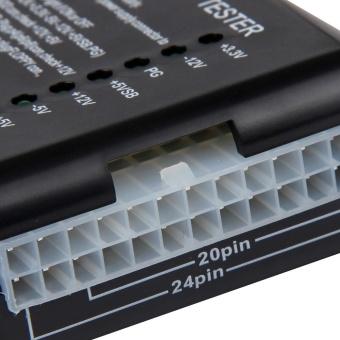 Desktop Computer 4-24 Pin Hoppy PSU ATX SATA HDD port Power SupplyTester - intl