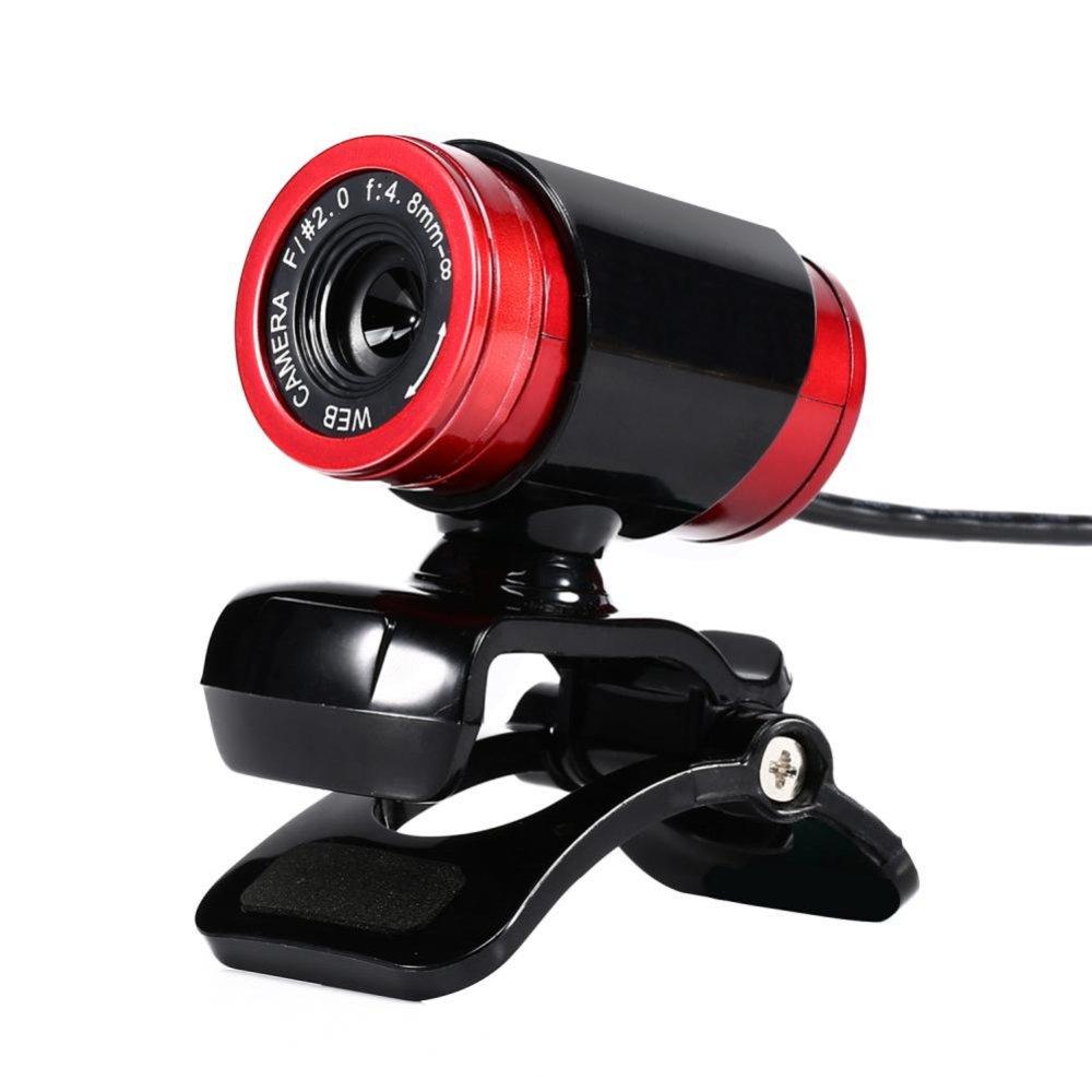 Mua Desktop USB 12MP HD Webcam Computer Camera w/ MIC for PC Laptop(Red) – intl Tại sportschannel