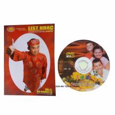 Đĩa Karaoke VT 6 số California Vol 21,(Hình 3 đứa bé Mỹ) MS:18 + Sách List nhạc