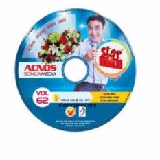 Đĩa Karaoke Acnos mới nhất Vol 62 B (Đĩa xanh)