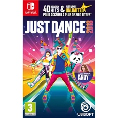 Đĩa game Nintendo Switch: Just Dance 2018
