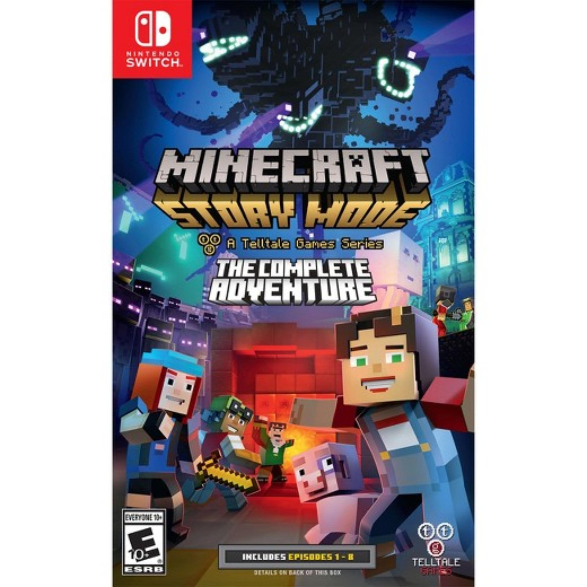 Đĩa game Nintendo Switch: Minecraft Complete Adventure