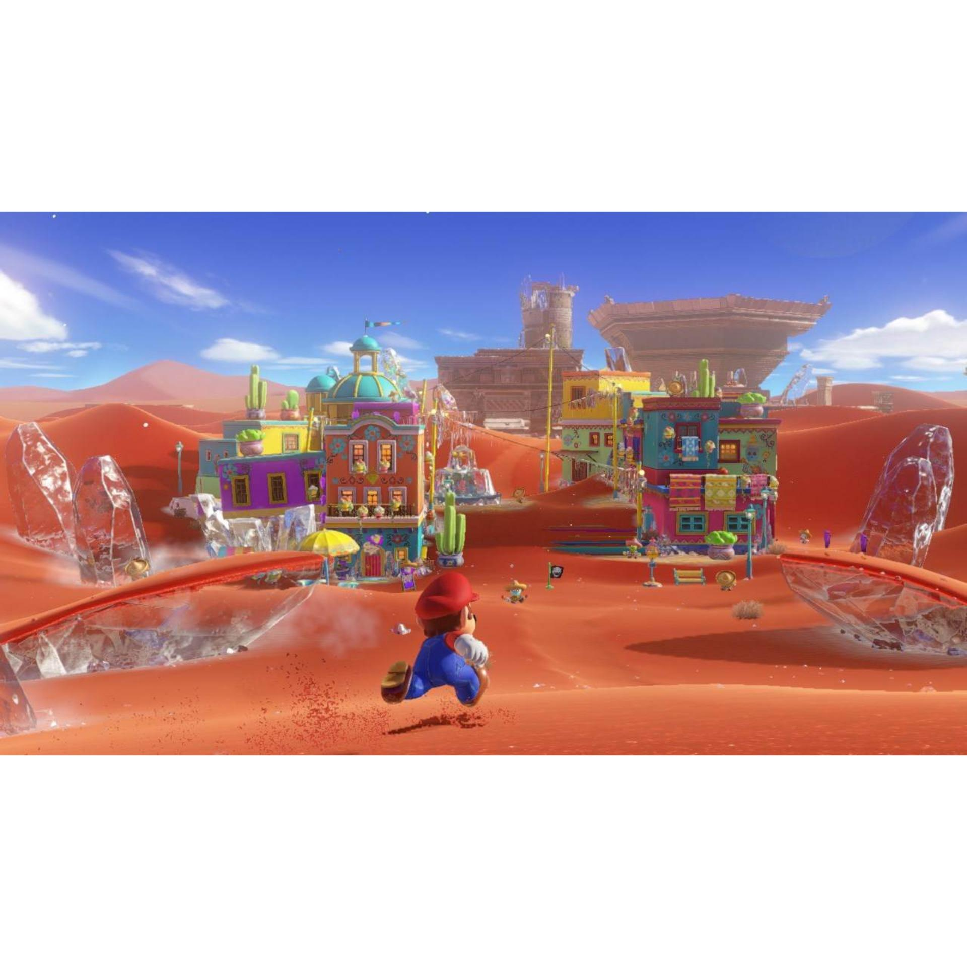 Đĩa game Nintendo Switch Super Mario Odyssey